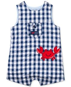 Little Me Baby Boys' Crab Sunsuit - Kids Baby Boy (0-24 months) - Macy's