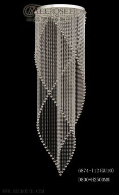 Free Shipping 2013 Hot Sale Modern Crystal Chandelier Lamp MD6874-L12 D800mm H2500mm With 12 Lights $865.00