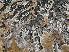 Edward Burtynsky, Dry Land Farming, Monegros County, Aragon, Spain, 2010