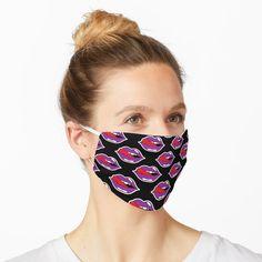 Face Mask Set, Diy Face Mask, Girls Lips, Mask Girl, Simple Face, Best Masks, Lip Mask, Mask Shop, Fashion Face Mask