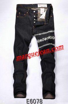 Vendre Jeans Evisu Homme H0060 Pas Cher En Ligne.