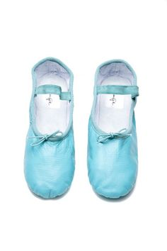 Turquoise Ballet Shoes, Turquoise Ballet Slippers, Turquoise Ballet Flat