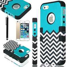 iPhone 5S Case, iPhone 5 Case, Pandamimi ULAK(TM) Lastest Pattern Hybrid High Impact Soft TPU + Hard PC Case Cover for Apple iPhone 5S 5 5G with Screen Protector and Stylus (Follow the sky) ULAK http://www.amazon.com/dp/B00GX5XRNS/ref=cm_sw_r_pi_dp_CHazub0GWRGZ4
