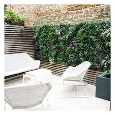Outdoor Deck Decorating, Outdoor Decor, Artificial Green Wall, Contemporary Gardens, Decking, Sun Lounger, Serenity, Outdoor Furniture Sets, Landscapes