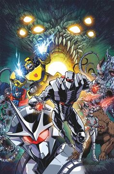 Rom Vs. Transformers: Shining Armor Meets Female Cybertronian in New Comic Series