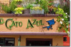 El Gato Azul one of my favorite restaurants in Prescott, AZ