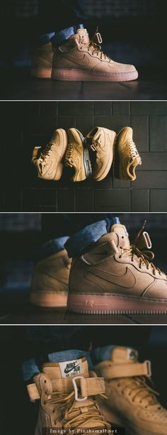 #Nike Air Force 1 Mid NSW – Flax Collection  Release date Nov. 1st   Find out where to cop them at REHAB Online Magazine