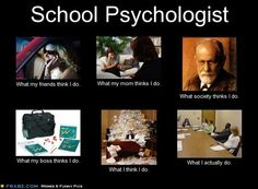 School Psychologist... - Click image to find more Humor Pinterest pins