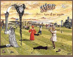 Genesis / Turn It On Again, cover by Paul Whitehead