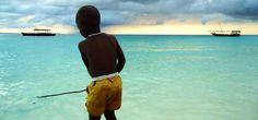 Maasai boy in Zanzibar ::Love::