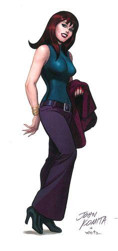 Mary Jane - Art by John Romita Sr.