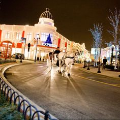 Easton Town Centre in Columbus, Ohio. My favorite Shopping and fun town.