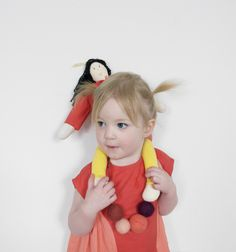 Mer Mag: Mer Mag: Isabel Garreton Spring Easter Dress and Doll