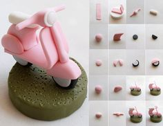 Scooter tutorial - For all your cake decorating supplies, please visit craftcompany.co.uk