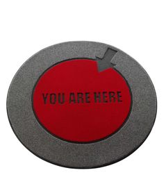 'YOU ARE HERE' FLOOR MAT   Funny, Durable, Witty Doormat Sets Your Home Apart From the Rest   UncommonGoods