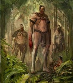 The Ancient Race Of 'white Giants' Described By American Indians