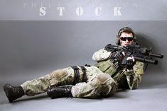Combat Soldier STOCK X by PhelanDavion.deviantart.com on @DeviantArt