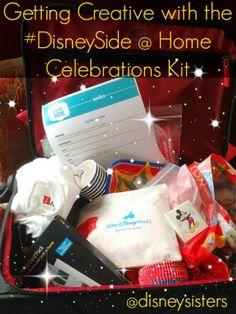 Getting Creative with the #DisneySide @ Home Celebrations Kit via @Disney Sisters