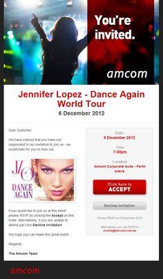 Event Invite Design for Amcom