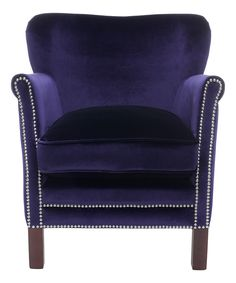 Royal Blue Lisa Arm Chair
