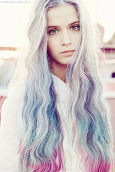 pastel hair #Hair #Beauty #Hairstyle #Style #Hairstyles #Hairstyles #Wigs #Fashion #Beauty #Hair #Makeup #iziwig