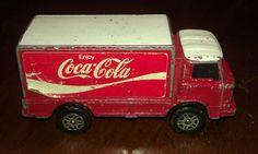 GT.BRITAIN,CORGI JR'S,COCA COLA,TRUCK,toy,good cond,vtg,must see rare