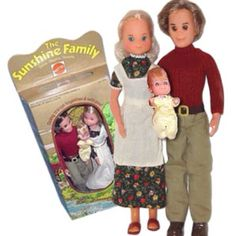 The Sunshine Family! Hippie home-farmers and better than Barbie. :-)