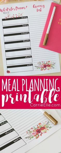 651 best meal planning printable images on pinterest in 2018