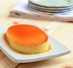 the smoothest, creamiest, most-melt-in-your-mouth caramel custard flan, leche flan