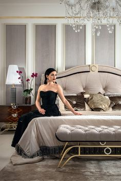 A touch of grace and style for any bedroom, adding the upmost in glamour and extravagance to any setting. The Italian Designer Nubuck Art Deco Bed. This glamorous Italian designer Art Deco bed is shown here finished in a beautiful mink Nubuck. The elegant Art Deco details are captivating, creating a truly sumptuous atmosphere.
