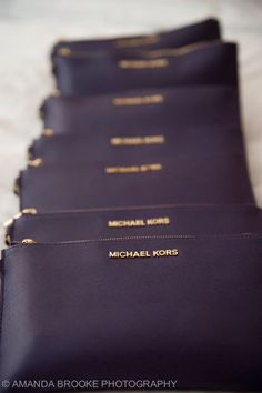 bridesmaid gift matching clutches