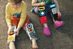 Robot Legs - how cute is this?  Thanks @YourTherapySource for the heads up on this one!  - - Pinned by @PediaStaff – Please visit http://ht.ly/63sNt for all (hundreds of) our pediatric therapy pins