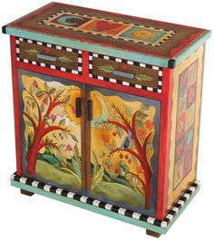 painting folk art on furniture - Google Search