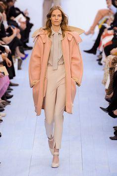 pastel orange coat