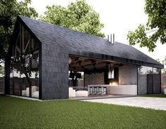 An old barn revamped. Beautiful!