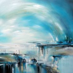 "Saatchi Art Artist Alison Johnson; Painting, ""Fractured Journey"" #art"