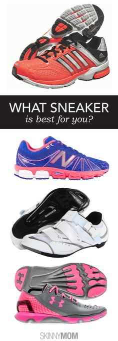 Check out the best shoes for every workout!