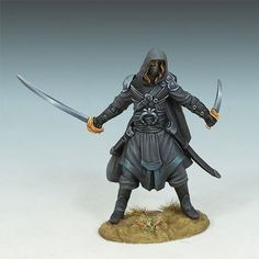 Hooded Assassin - Visions in Fantasy - Miniature Lines