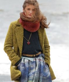Roma e Toska autumn / winter 2013 girls fashion for tween and teen age.