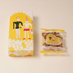 Adorable Japanese Packaging. まるたやあげ潮 (Have rounded up and tied).
