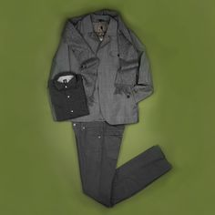 Hogarth Scottish lambswool scarf, Italian made Eleventy shirt, AG five pocket trouser, and Italian made Sealup waterproof windbreaker- a great outfit for those rainy spring days.