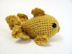 Amigurumi Goldfish CROCHET PATTERN by MevvSan on Etsy