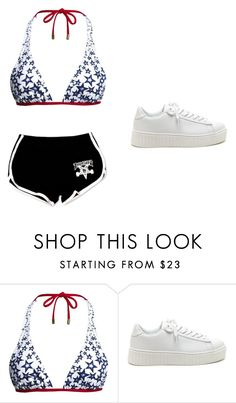"""""""Untitled #439"""" by kayleigh0 ❤ liked on Polyvore featuring Canvas by Lands' End"""