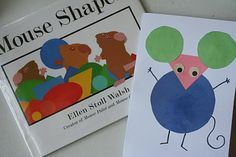 If mice can teach colors , why not shapes? In her book Mouse Shapes , Ellen Stoll Walsh covers basic shapes while spinning a delightful sto. Preschool Literacy, Preschool Books, Kindergarten Art, Math Activities, Preschool Activities, Preschool Shapes, Maths Resources, Teaching Shapes, Teaching Colors