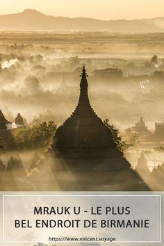 Mrauk U, la cité perdue de Birmanie. Des temples magnifiques, un retour dans le passé indispensable lors de votre voyage dans le pays. Le tout sans touriste. Plus petit que Bagan, mais au moins autant impressionnant, découvrir ces temples est un vrai bonheur dans une région à part du pays. Les plus beaux couchers et levers de soleil de Birmanie ! #photography #photographie #myanmar #birmanie #sunset