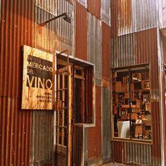 Pub Interior, Cafe Shop Design, House Design, Le Hangar, Cow House, Modern Industrial Decor, Barber Shop Decor, Tin Walls, Metal Siding