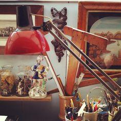 The Brighton studio of artist Ed Kluz