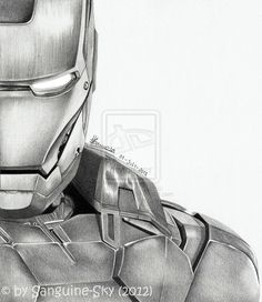 The Avengers half series - Iron Man by ~Sanguine-Sky on deviantART