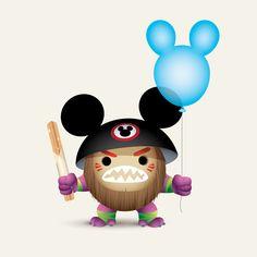 Kakamora by Jerrod Maruyama - Moana Disney Jokes, Disney Food, Cute Disney, Disney Parks, Disney Pixar, Disney Characters, Disney Stuff, Walt Disney, Disney Bounding
