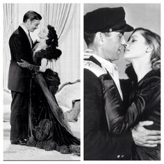 Day 9, favourite O/H couple (onscreen or off): I did both, my favourite onscreen couple was Clark Gable and Vivien Leigh as Rhett Butler and Scarlett O'Hara in Gone With The Wind. My favourite offscreen couple would definitely be Humphrey Bogart and Lauren Bacall  #ccchallenge #rhettbutler #scarlettohara #gwtw #gonewiththewind #clarkgable #vivienleigh #laurenbacall #humphreybogart #oldhollywood #oldhollywoodcouples